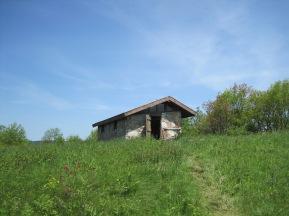 Chestnut Knob Shelter.