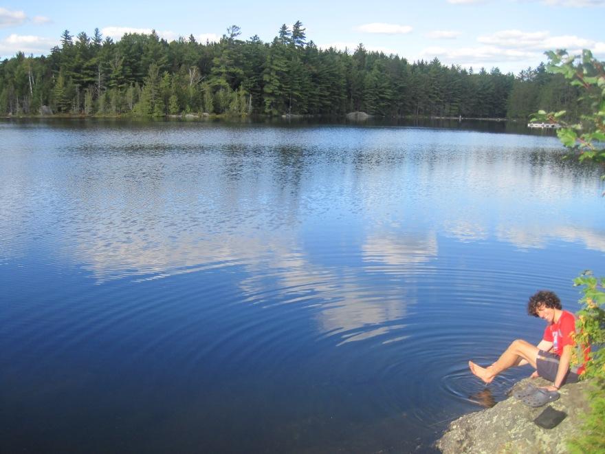 Land o'lakes.