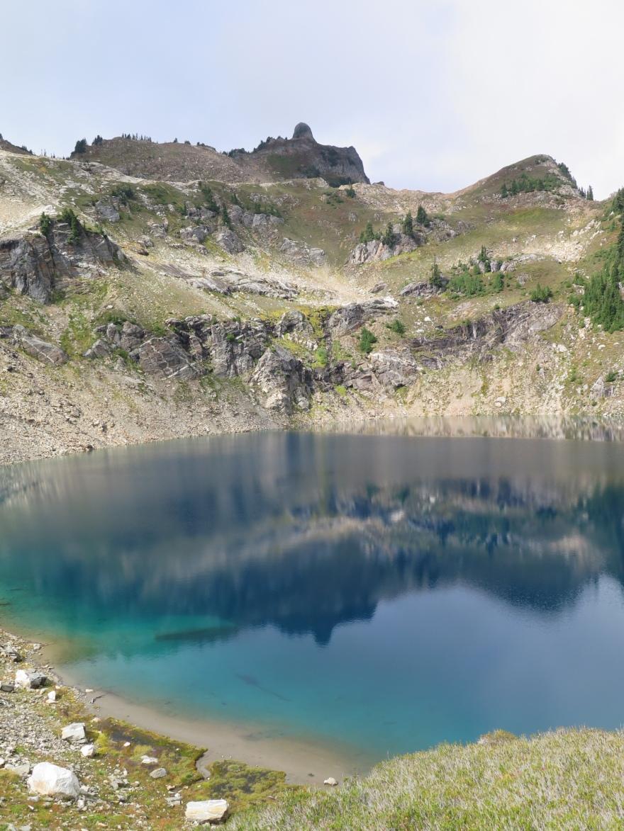 Micah Lake, Glacier Peak Wilderness.